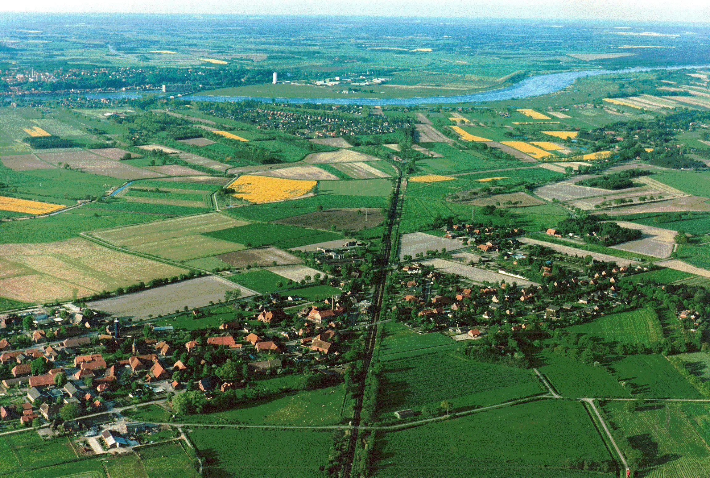 Luftbild 1992
