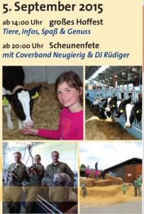Eröffnung der Lehrwerkstätten Rind und Schwein im Landwirtschaftlichen Bildungszentrum Echem