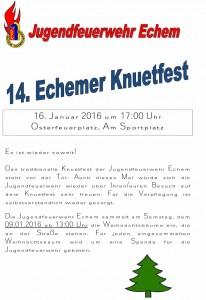 14. Echemer Knuetfest