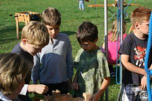 Infoveranstaltung zum Thema Bauvorhaben Schule im Feuerwehrhaus