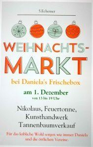 Weihnachtsmarkt bei Danielas Frischebox